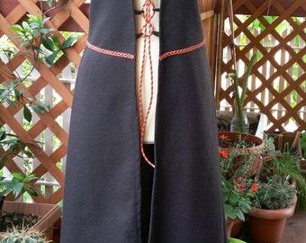 Medieval fantasy overdress