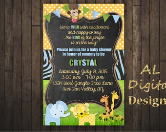 Jungle Invitation, King of the Jungle Invitation