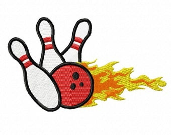 Bowling On Fire