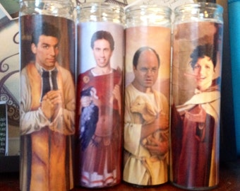 Seinfeld George Kramer Elaine Jerry Prayer Candles