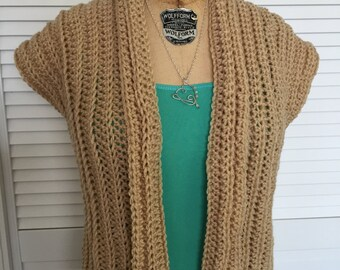 Summer Crochet Shrug Pattern