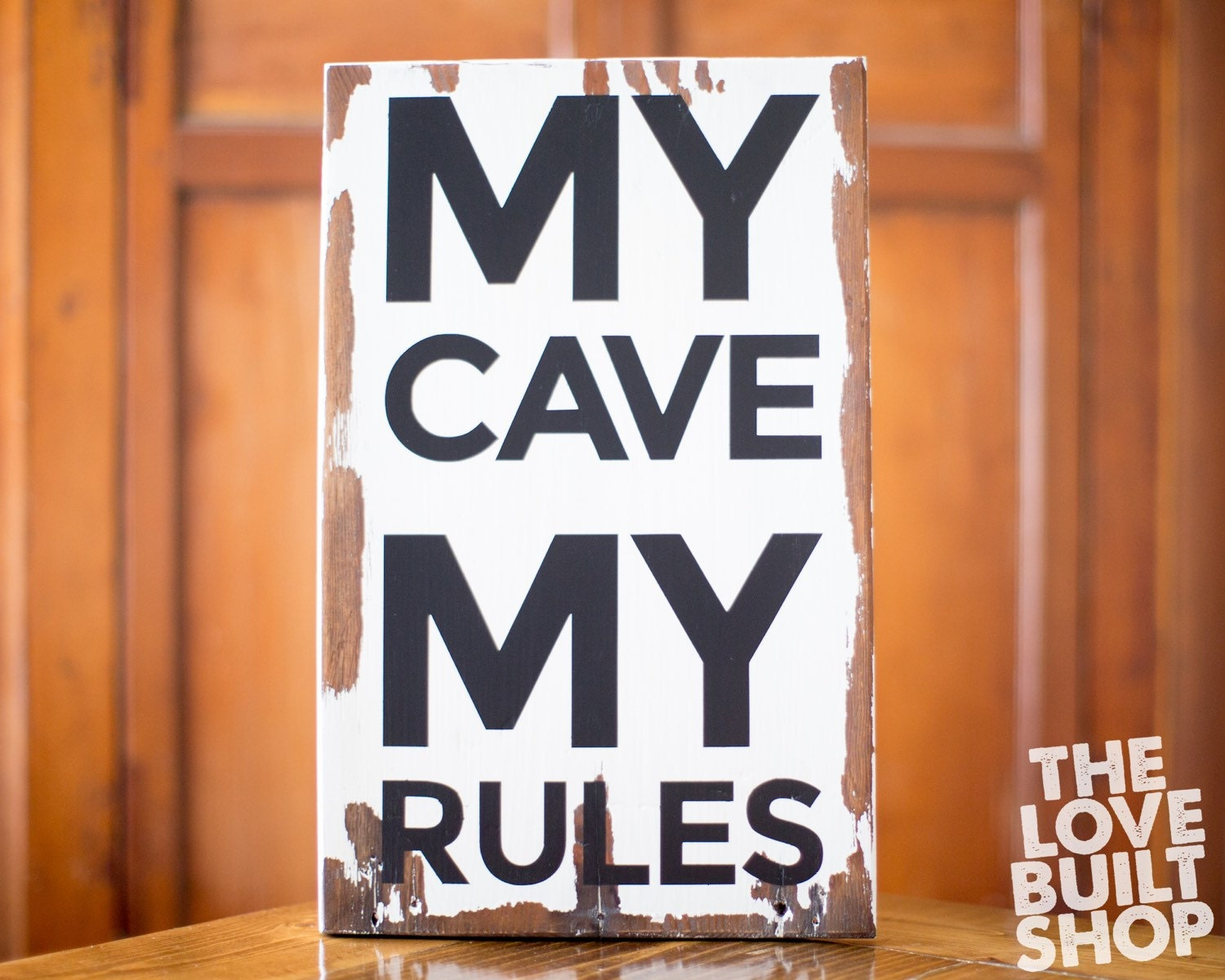 Man Cave Gifts For Him : Man cave wood sign gifts for him boy men