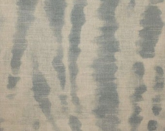 CLARENCE HOUSE EXCLUSIVE Le Marche Linen Fabric 10 Yards Aqua