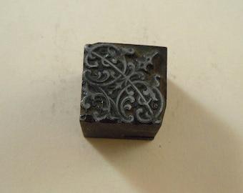 Ornate fenestration printer typeset