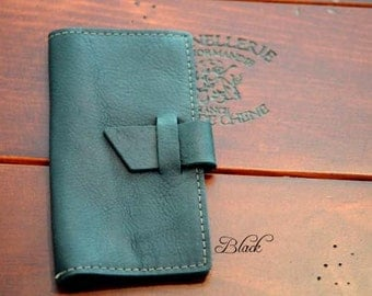 Checkbook Cover Leather