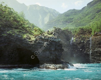Na Pali coast Kauai Hawaii Giclee photo print photography fine art