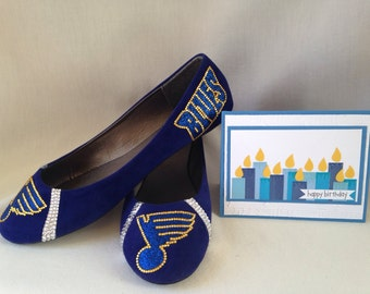 Blues Flats Card