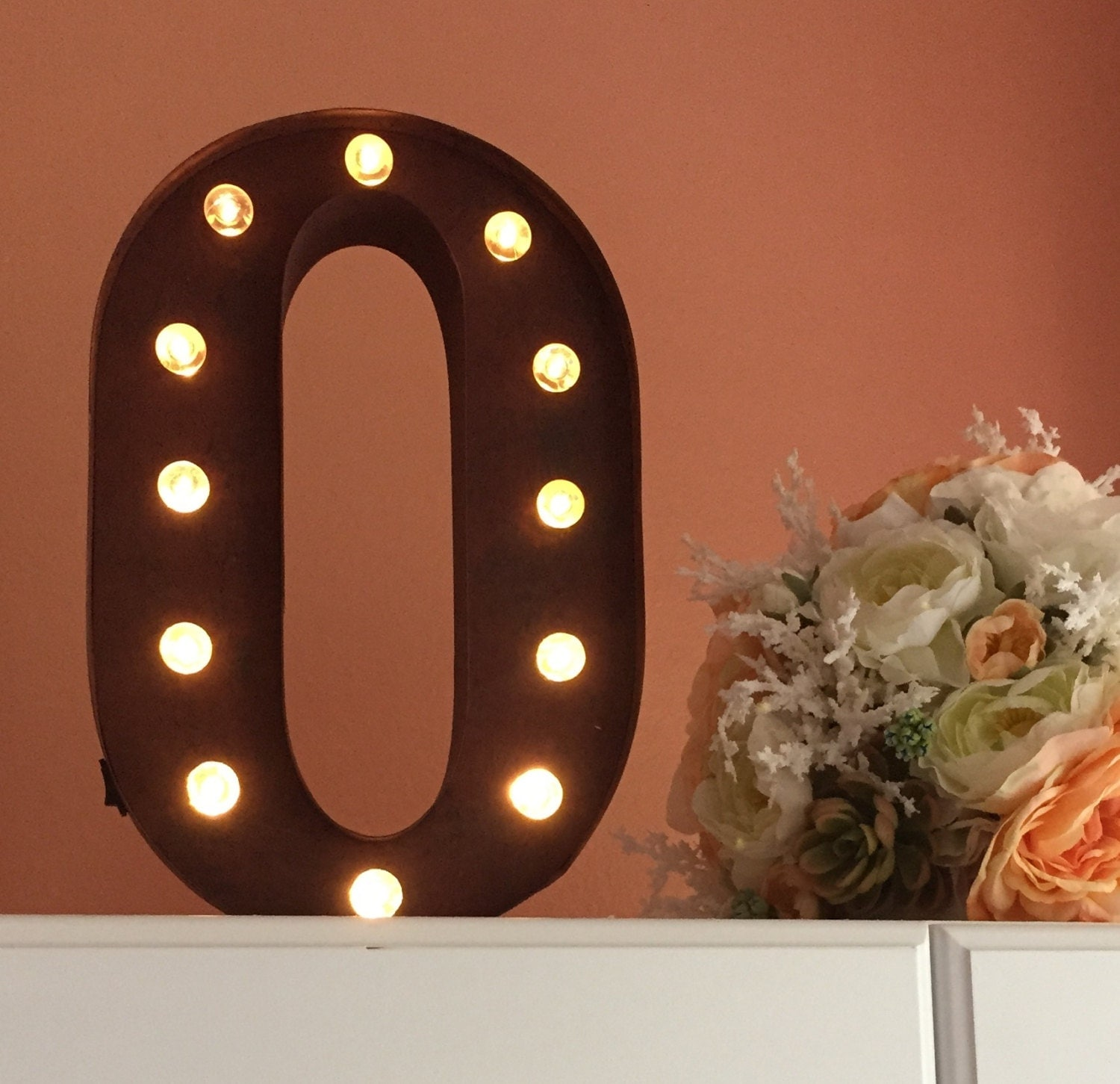 best marquee letters 12 remote control option battery powered onoff timer stand up or wall mount light bulb letters