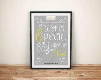 Family (G) - A Bushel and A Peck
