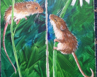 Just One Kiss (A Harvest Mouse Love Story)