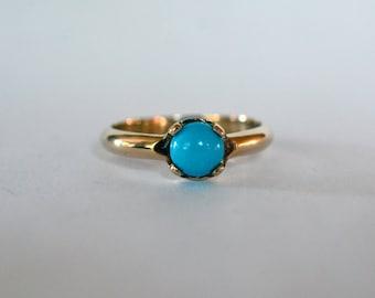 Sleeping Beauty Turquoise Ring