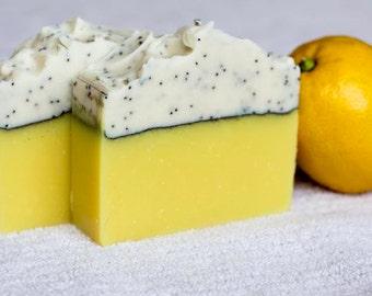 Poppy Lemonstocking - Homemade Soap