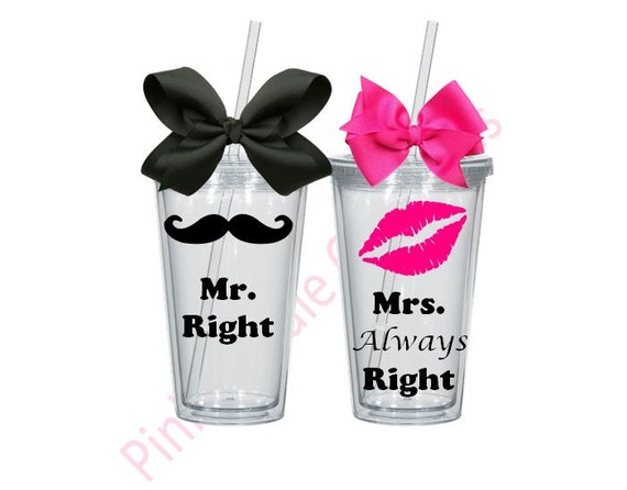 Mr And Mrs Gifts Wedding: Mr And Mrs Gift Wedding Gift Mr And Mrs Tumblers Tumler