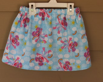 Girls Skirts Baby Girl Toddler Skirt Abby Cadabby Skirt Sesame Street Skirt