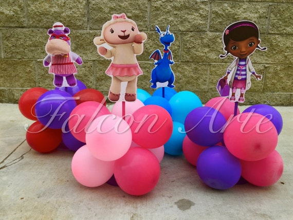 Doc McStuffins Birthday Lambie Stuffy Hallie Balloon