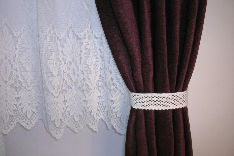 how to make bead curtain tie backs