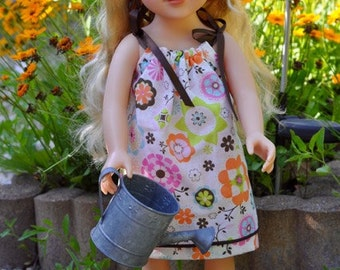 Pillowcase Vintage Style Dress for 18 inch Dolls
