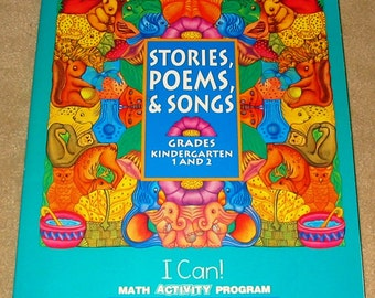 MATH ANTHOLOGY Stories Poems & Songs for Kindergarten and Grades 1-2 Homeschool