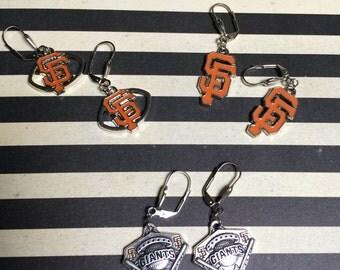 San Francisco Giants inspired earrings!