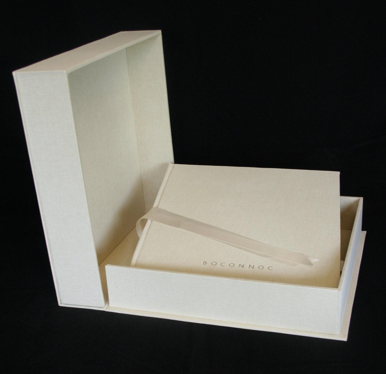 Boxed Photo Albums: 12 X 12 Personalised Wedding Album & Storage Box