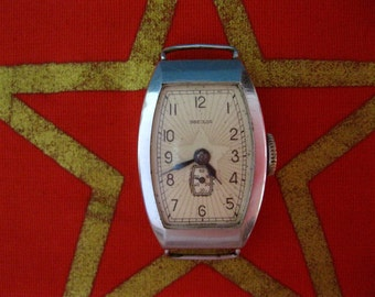 "Vuntage soviet watch ""ZVEZDA"" ladies made in USSR 50s RARE."