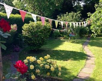Wedding bunting,Outdoor bunting, Outdoor banner, Long bunting/ banner,Long bunting,Garden party bunting, Garden bunting, Wedding banner