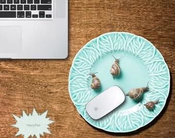 3D Plate Mouse pad mouse mat mouse pads 3d mousepad