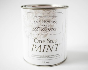 Amy Howard one step paint 32oz size/ No stripping, sanding or priming required
