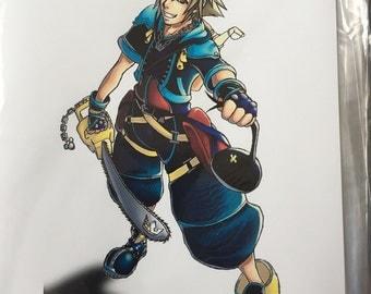 Kingdom Hearts based Mini Prints