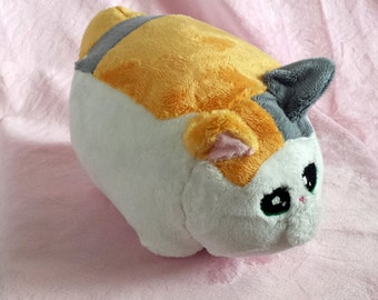 FFXIV Fat Cat Plush Final Fantasy XIV Handmade Minion Plushie