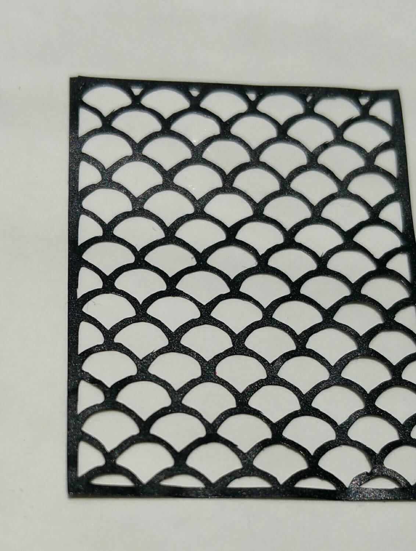 Vinyl Nail Stencils Houndstooth Moroccan Zebra Animal