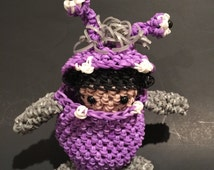 Disney's Monsters Inc Boo Rubber Band Figure, Rainbow Loom Loomigurumi, Rainbow Loom Disney