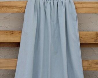 Sky Blue Skirt