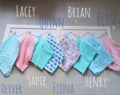 Cotton & Cozy Flannel Baby Blankets - Infant Swaddle - Recieving Blanket - Homesewn Keepsake - Baby Shower Gift