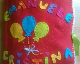 Quiet books ... Educational book felt and felt ... Learn by playing ... HandmadeKriTiLo