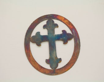 Rustic Cross wall hanging