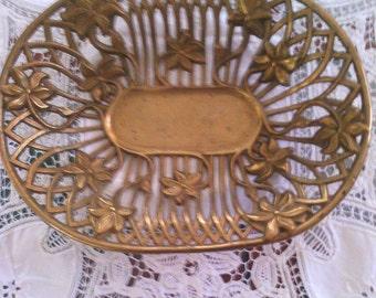 beautiful brass tray
