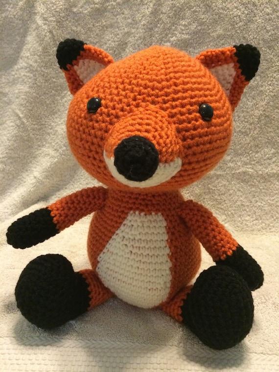 Amigurumi Stuffed Animals : Amigurumi Stuffed Fox stuffed animal fox by ...