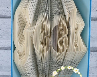 Book Folding Pattern 'Geek' PDF Pattern With Tutorial (263 Folds) Instant Download