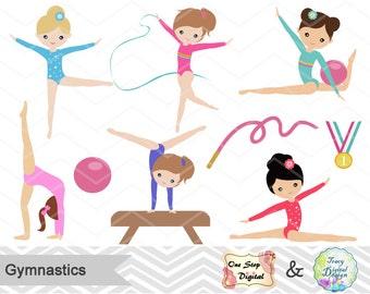 Clip Art Gymnast Clip Art gymnastic clip art etsy instant download girls gymnastics digital clipart girl gymnast 0192