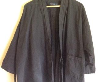 Wabi Sabi Cotton/Linen Kimono Jacket