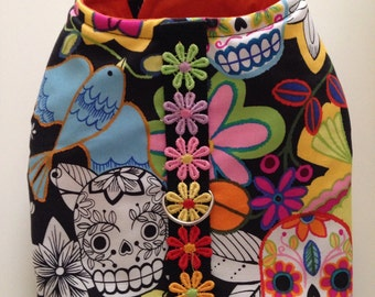 Day of the Dead vest harness