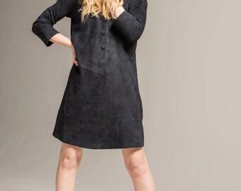 Genuine Suede Dress