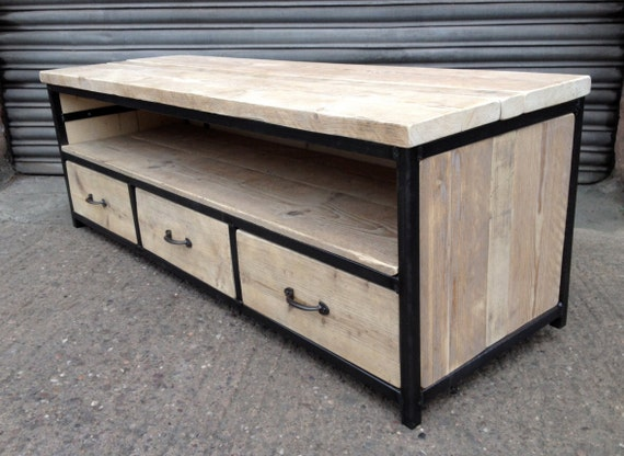 Sideboard Industrial Look ~ Tv stand industrial style sideboard unit by furniture