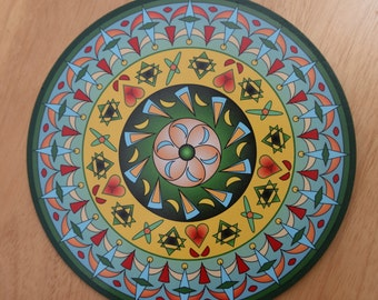 "8"" Mandala Wall Art - ""Sharon"""