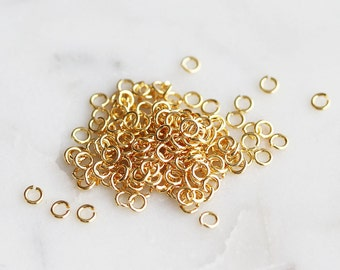 S4-263-G] 2mm x 21 gauge / Gold plated / Jumpring / 10g