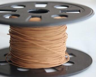 T9-250-BR3] Brown / 0.6mm / Nylon / Jewelry String Cord / 5 yard(s)