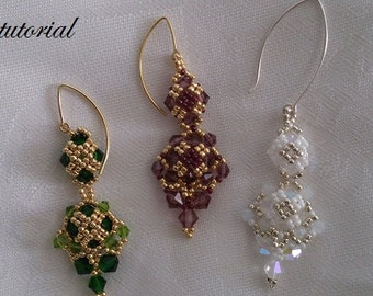 Tutorial- Saratoga Earrings