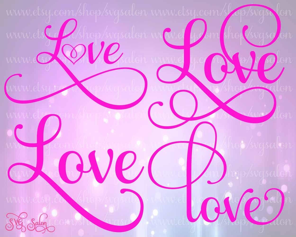 Blackberry Logo Font Love Logo in Samantha Font