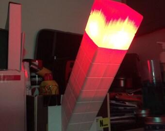 3D Printed Minecraft Torch